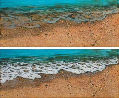 of painting in acrylic bartz walter foster i painting sand and foam i