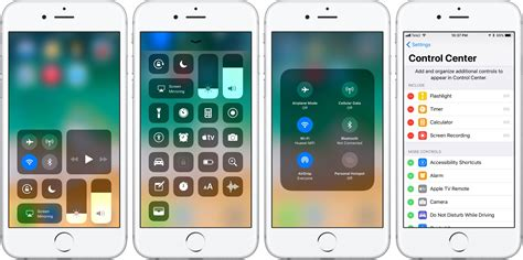 how to get ios 8 style control center on ios 7 ios hacker hands on with ios 11 s highly customizable control center