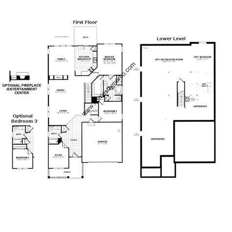 Ryland Home Plans by Ryland Homes Floor Plans
