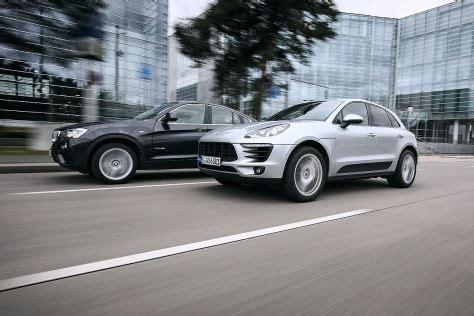 Porsche Macan Vergleich by Vergleich Bmw X4 Xdrive35i Gegen Porsche Macan S