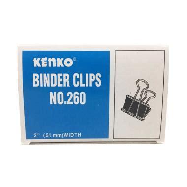 Kenko Binder Klip No 260 jual binder terbaik dengan desain unik blibli