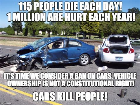 cars kill people imgflip