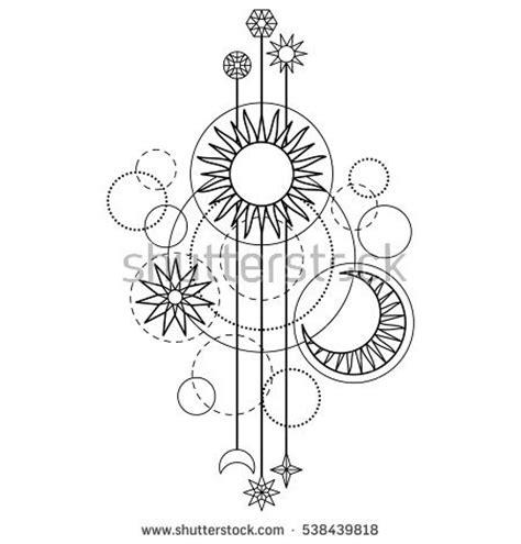 abstract sun coloring page stars tatoo ภาพสต อก ภาพและเวกเตอร ปลอดค าล ขส ทธ