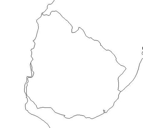 Uruguay Flag Outline by Geography Uruguay Outline Maps