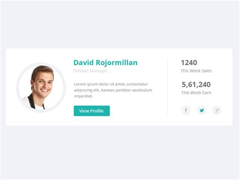 bootstrap themes profile user profile on behance