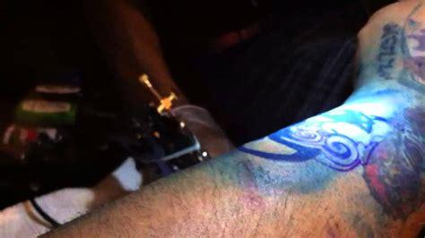 tattoo goo burning sensation my first born tattoo youtube