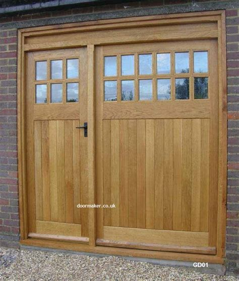 Garage Door With A Door Bespoke Garage Doors