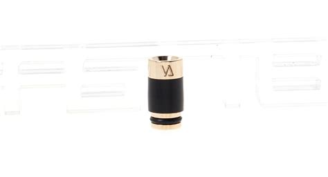 Stainless Steel Pom 510 Drip Tips Gold Plated 1 63 stainless steel pom 510 drip tip gold plated at