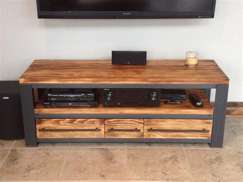 Meuble De Tele meuble tv bois m 233 tal meuble t 233 l 233 style industriel bois m 233 tal