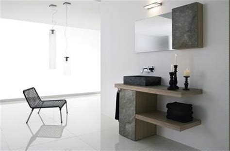 Bathroom Furniture Modern Modern Bathroom Vanities From La Roccia Part 1