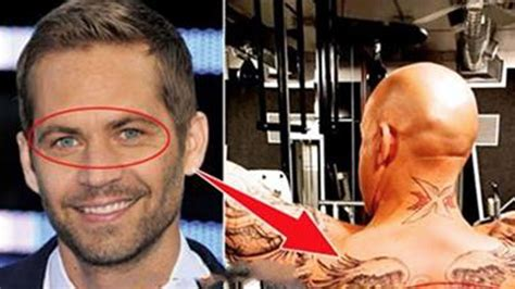 vin diesel tattoos the gallery for gt paul walker