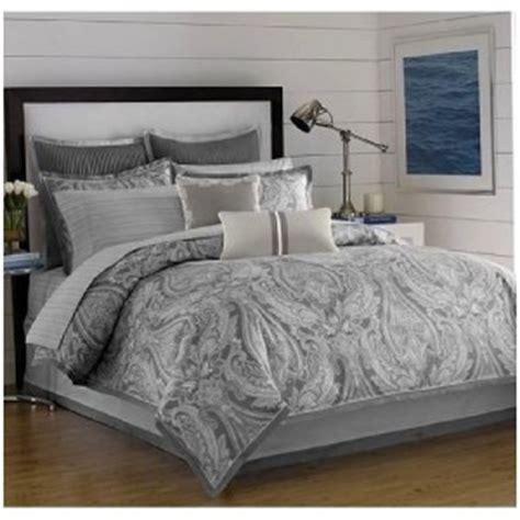 gray paisley comforter nautica quot charleston quot paisley king comforter set shams