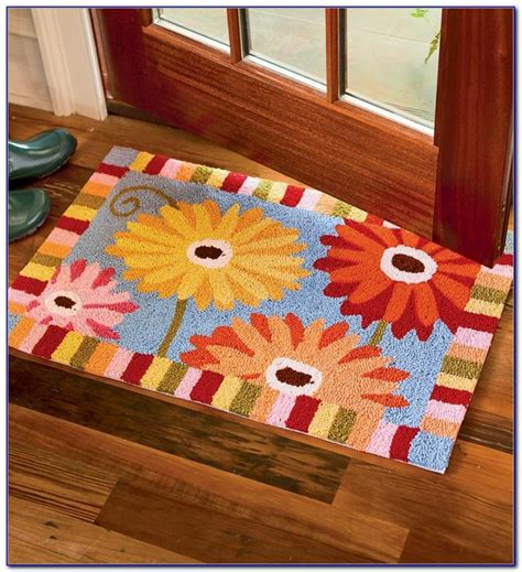 Rubber Backing For Throw Rugs by Washable Kitchen Rugs With Rubber Backing Rugs Home