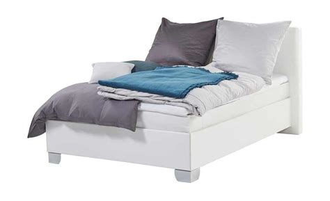 schöne betten günstig schlafzimmer blau braun
