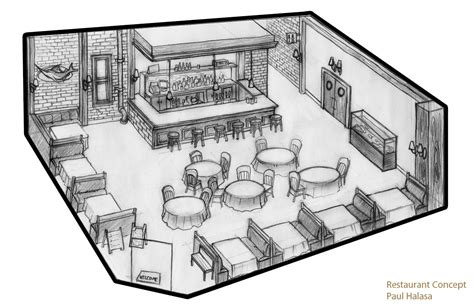 restaurant concept 3 early design concepts for a new 3 aku dan sesuatu