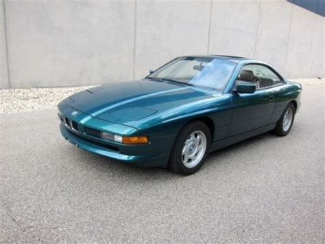 purchase used 1992 bmw 850 850i rare 6 speed manual serviced clean great buy in madison
