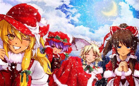 anime wallpaper hd christmas anime christmas wallpaper hd 70 images