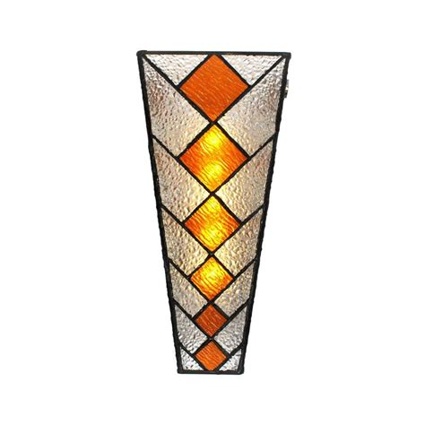 stained glass outdoor light it s exciting lighting wall mounted indoor outdoor 5 led