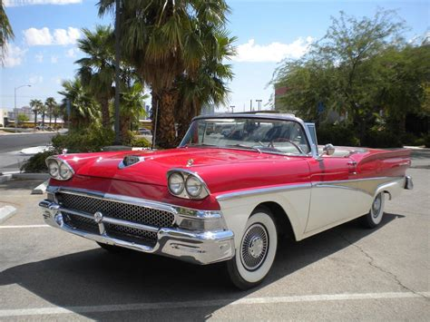 hardtop convertible cars 1958 ford fairlane retractable hardtop convertible 93410