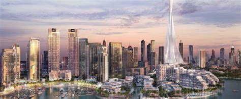 dubai boat tower watch here s what dubai creek harbour is going to look