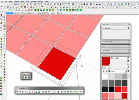 pattern sketch plugin sketchup tile brick technique youtube