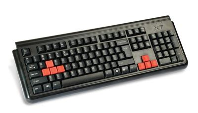 Keyboard X7 a4tech x7 g300 keyboard for pc gaming by a4tech