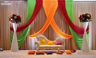 wedding ideas stage decoration for wedding