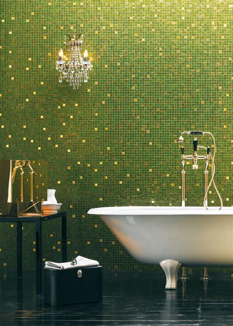 bisazza fliesen gold collection king 20 glass mosaics from bisazza