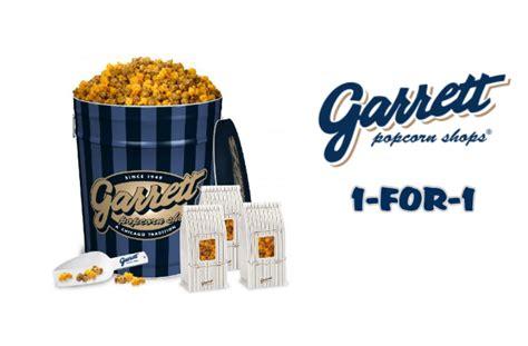 Garret Popcorn Signature Small garrett popcorn 1 for 1 signature popcorns until 10 mar 16 moneydigest sg