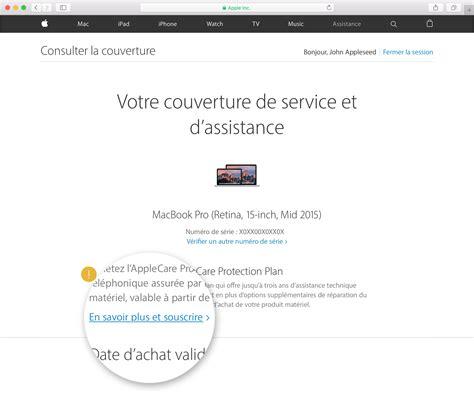 Check Apple Care For Mba by Puis Je Acheter Un Contrat Applecare Pour Mon Appareil