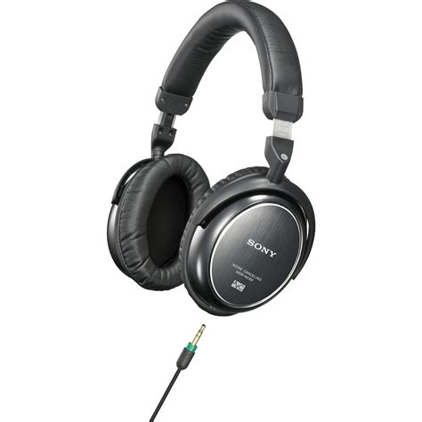 Headset Sony Noise Canceling sony mdr nc60 affordable noise canceling headphones musician s friend