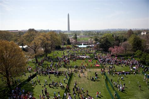 egg roll house photos the white house easter egg roll throughout history pbs newshour