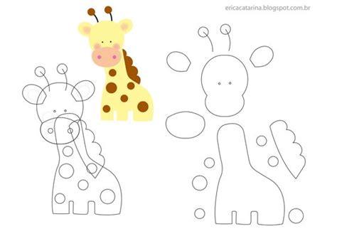 molde mariposa patrones pinterest felting felt jirafas fieltro moldes y patrones imprimir05 nens