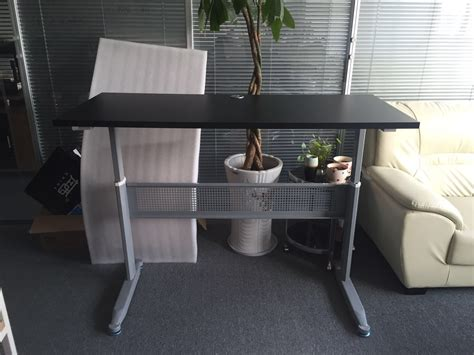 height adjustable desk office home workstation computer