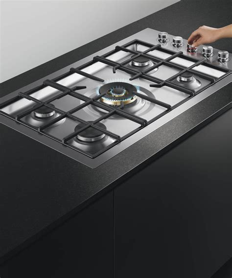fisher paykel gas cooktops cg365dlprx2 n fisher paykel 36 quot 5 burner gas cooktop