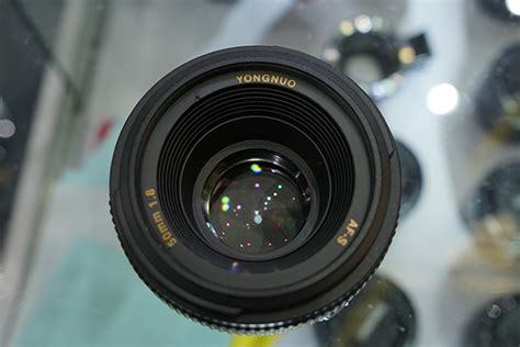 Yongnuo Af S 50mm 1 8 For Nikon Code 0034 this is the yongnuo af s 50mm f 1 8 lens for nikon f mount nikon rumors