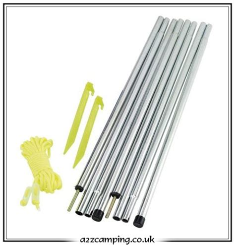 tent awning poles awning tent canopy pole set
