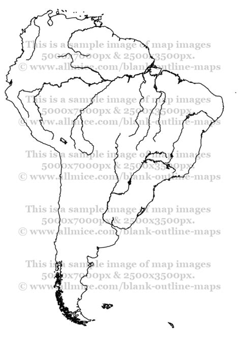 rivers of south america map maps of rivers and lakes of south america