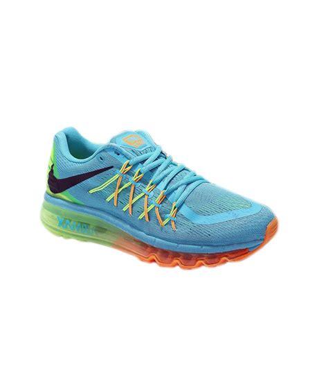 nike air max 2015 gamma blue volt orange sport shoes buy