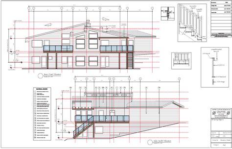 custom plans gulf island custom building drawings for permit