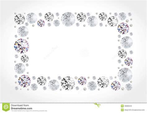 frame design gem gallery diamond border clip art 32