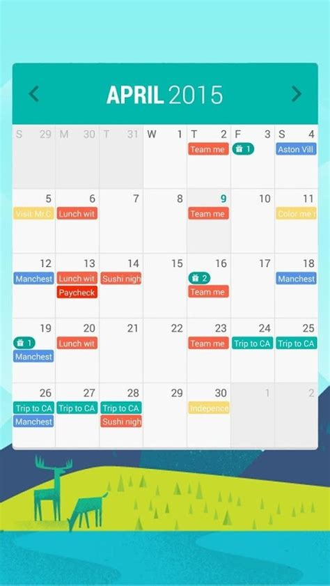 best android calendar widget calendar widget month android apps on play