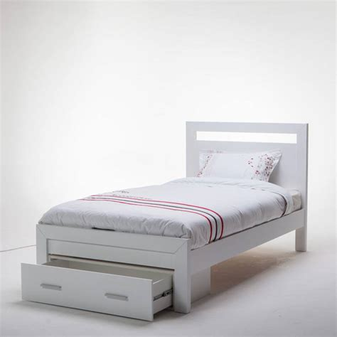 White King Bed Frame Venus White King Single Bed Frame With Storage Buy King Single Bed Frame