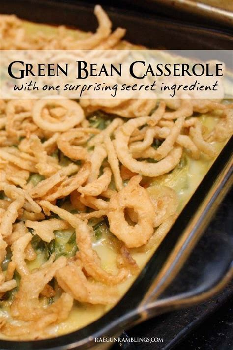 easy green bean casserole recipe and other great