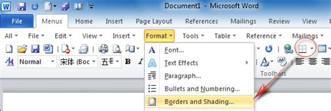 word 2016 2013 2010 using simple borders for a table of contents insert page border in excel 2013 how to add a border an entire page in wordhow free borders