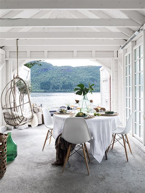 nordic boat house beautiful and luminous boat house in norway nordicdesign