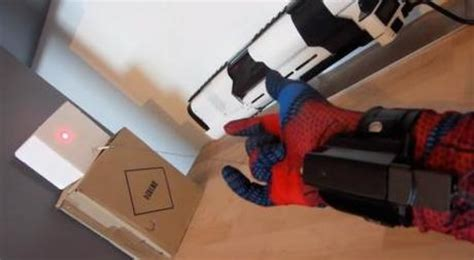 How To Make A Paper Spider Web Shooter - someone made real spider web shooters paperblog