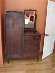 antique chifferobe wardrobe dresser with mirror chicago