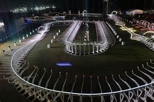 Race Track Dubai At The Dubai World Drone Prix Where A Uk Won The
