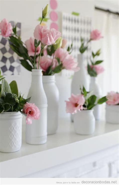 15 ideas para realizar centros de mesa para bodas bonitos